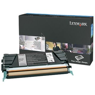 Lexmark Toner E460X31E Schwarz