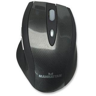 Manhattan MLD Laser Maus Schwarz USB