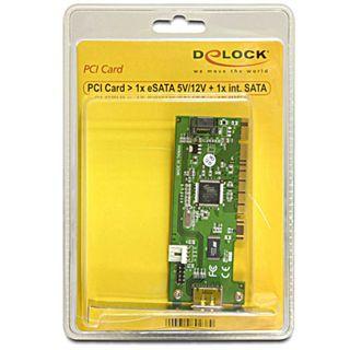 Delock 89302 1 Port PCI Low Profile retail
