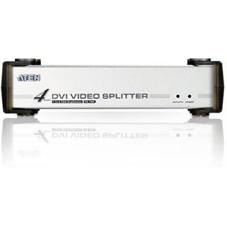 ATEN Technology VS164 4-fach DVI-A/V-Splitter