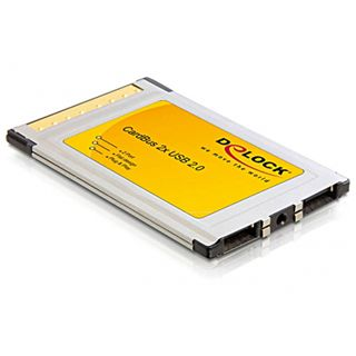 Delock 61745 2 Port PCMCIA retail