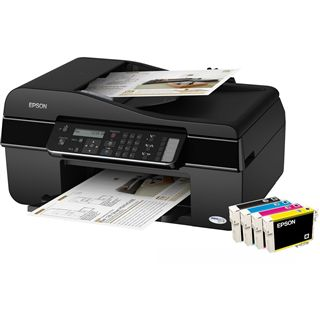 Epson Stylus Office BX305F Multifunktion Tinten Drucker 5760x1440dpi USB2.0