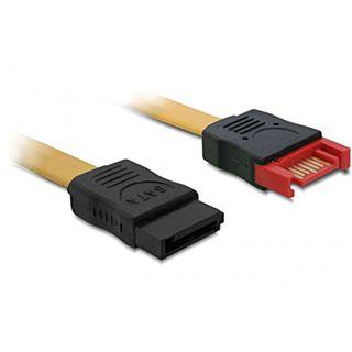 (€3,90*/1m) 1.00m Delock SATA 3Gb/s Anschlusskabel SATA Stecker auf SATA Buchse beige