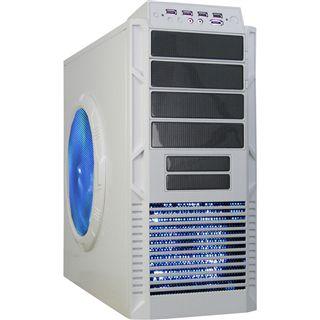ATX Inter-Tech Airmaster IT-9909 Midi Tower o.NT Weiß