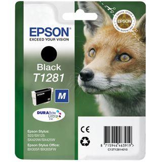 Epson C13T12814030 schwarz 5,9 ml