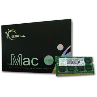 8GB G.Skill Mac Memory DDR3-1066 SO-DIMM CL7 Dual Kit