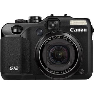Canon Powershot G12 Digitalkamera Schwarz