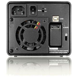 """Raidon GR3630-2S-SB2+ NAS System 2x2.5"""" USB 2.0"""