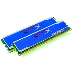 2GB Kingston HyperX DDR3-1333 DIMM CL9 Dual Kit