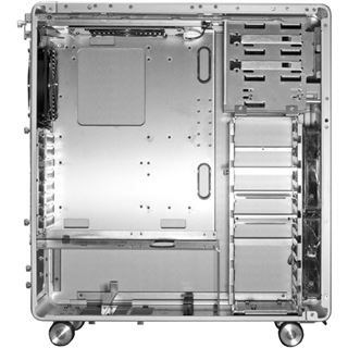 Lian Li PC-V1020A Midi Tower ohne Netzteil silber