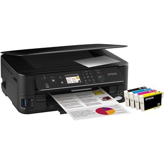 Epson Stylus Office BX525WD Multifunktion Tinten Drucker 5760x1440dpi WLAN/LAN/USB2.0
