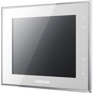 "8,0""(20,32cm) Samsung Digitaler Fotorahmen SPF-800W 800x600 1024MB Weiß"