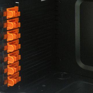 Xigmatek Asgard II Sichtfenster Midi Tower ohne Netzteil schwarz/orange