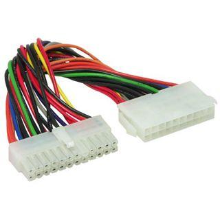 0.10m Good Connections ATX Stromadapterkabel intern 24pol Stecker auf 20pol Buchse