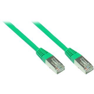 6.00m Good Connections Cat. 5e Patchkabel FTP RJ45 Stecker auf RJ45 Stecker Grün