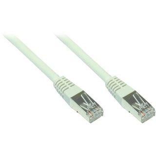 25.00m Good Connections Cat. 5e Patchkabel F/UTP RJ45 Stecker auf RJ45 Stecker Grau
