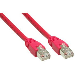 (€3,90*/1m) 1.00m Good Connections Cat. 6 Patchkabel S/FTP PiMF RJ45 Stecker auf RJ45 Stecker Rot