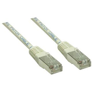 (€0,99*/1m) 7.00m Good Connections Cat. 6 Patchkabel S/FTP PiMF 250MHz AWG23 RJ45 Stecker auf RJ45 Stecker Grau halogenfrei