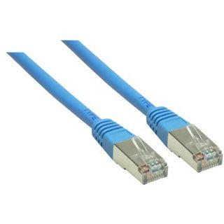 (€0,69*/1m) 10.00m Good Connections Cat. 6 Patchkabel S/FTP PiMF RJ45 Stecker auf RJ45 Stecker Blau