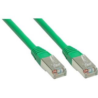 15.00m Good Connections Cat. 6 Patchkabel S/FTP PiMF RJ45 Stecker auf RJ45 Stecker Grün