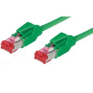 1.50m Good Connections Cat. 6 Patchkabel S/FTP PiMF RJ45 Stecker auf RJ45 Stecker Grün halogenfrei