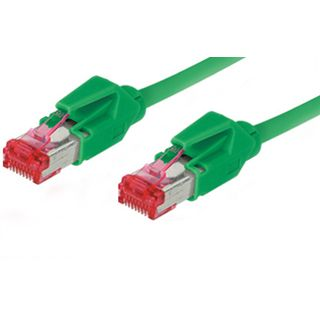 7.00m Good Connections Cat. 6 Patchkabel S/FTP PiMF RJ45 Stecker auf RJ45 Stecker Grün