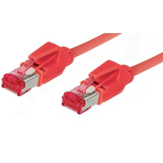 20.00m Good Connections Cat. 6 Patchkabel S/FTP PiMF RJ45 Stecker auf RJ45 Stecker Rot halogenfrei