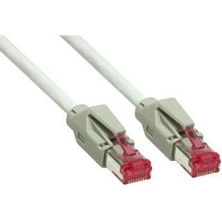 7.50m Good Connections Cat. 6 Patchkabel S/FTP PiMF RJ45 Stecker auf RJ45 Stecker Grau halogenfrei