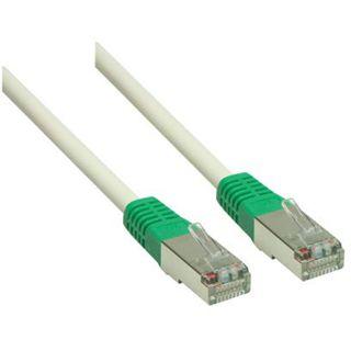 (€0,26*/1m) 50.00m Good Connections Cat. 5e Patchkabel Crossover S/FTP RJ45 Stecker auf RJ45 Stecker Grau