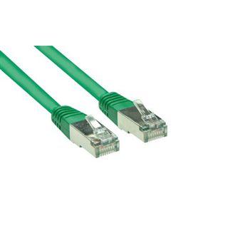 (€7,80*/1m) 0.50m Good Connections Cat. 5e Patchkabel S/FTP RJ45 Stecker auf RJ45 Stecker Grün