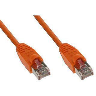 (€1,30*/1m) 3.00m Good Connections Cat. 5e Patchkabel S/FTP RJ45 Stecker auf RJ45 Stecker Orange