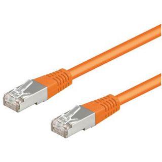 (€0,69*/1m) 10.00m Good Connections Cat. 5e Patchkabel S/FTP RJ45 Stecker auf RJ45 Stecker Orange