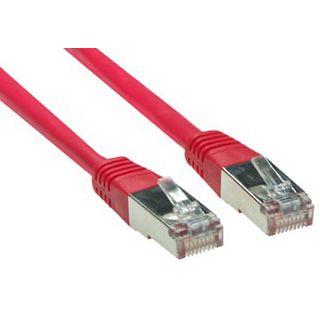 (€0,53*/1m) 15.00m Good Connections Cat. 5e Patchkabel S/FTP RJ45 Stecker auf RJ45 Stecker Rot