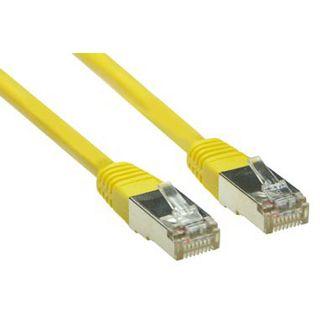 (€1,95*/1m) 2.00m Good Connections Cat. 5e Patchkabel S/FTP RJ45 Stecker auf RJ45 Stecker Gelb