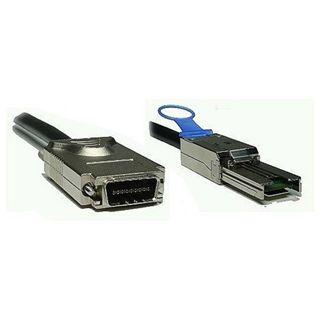 5.00m Good Connections SAS 3Gb/s Anschlusskabel SFF-8088 Stecker auf SFF-8470 Stecker Schwarz