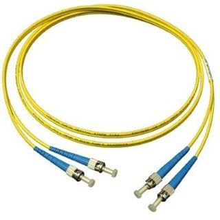 2.00m Good Connections LWL Single-Mode Anschlusskabel 9/125 µm OM2 ST Stecker auf ST Stecker Gelb