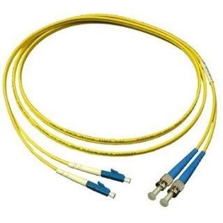 3.00m Good Connections LWL Single-Mode Anschlusskabel 9/125 µm OM2 LC Stecker auf ST Stecker Gelb