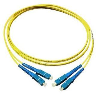 7.00m Good Connections LWL Single-Mode Anschlusskabel 9/125 µm OM2 SC Stecker auf SC Stecker Gelb
