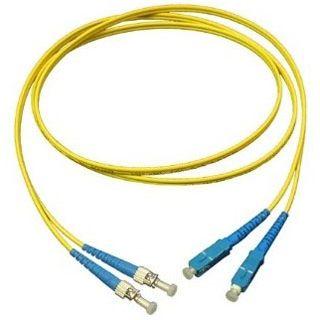 7.00m Good Connections LWL Single-Mode Anschlusskabel 9/125 µm OM2 SC Stecker auf ST Stecker Gelb
