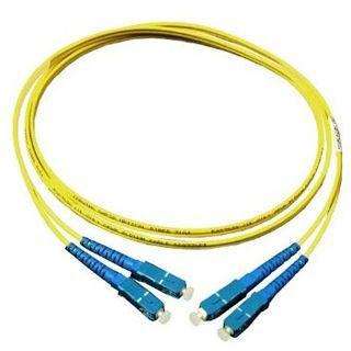 20.00m Good Connections LWL Single-Mode Anschlusskabel 9/125 µm OM2 SC Stecker auf SC Stecker Gelb