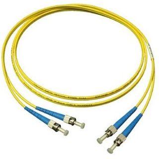 20.00m Good Connections LWL Single-Mode Anschlusskabel 9/125 µm OM2 ST Stecker auf ST Stecker Gelb