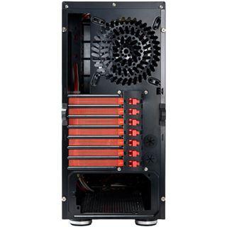 Revoltec Sixty 5 Midi Tower ohne Netzteil schwarz