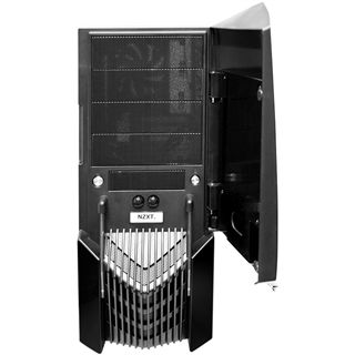 NZXT LeXa S Midi-Tower - Black Metal