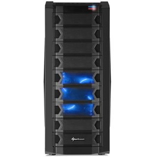 Sharkoon Scorpio 2000 Midi-Tower - black