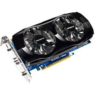 1GB Gigabyte GeForce GTX 560 Ti OC Aktiv PCIe 2.0 x16 (Retail)