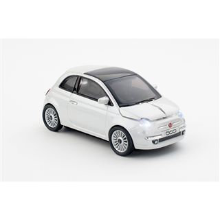 Pawas Trading GmbH Car-Mouse Fiat 500 USB weiß (kabellos)