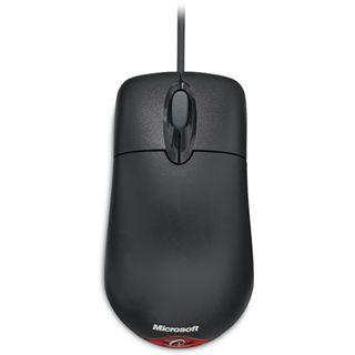 Microsoft Maus Wheel Mouse Optical 1.1 PS2/USB schwarz 1er bulk