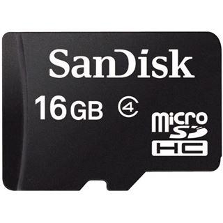 16 GB SanDisk Standard microSDHC Class 2 Retail
