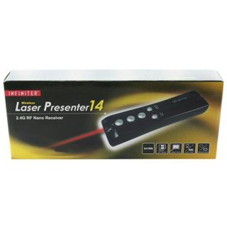 InLine Funk Laser Presenter LR14 USB schwarz