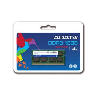4GB ADATA AD3S1333C4G9-S DDR3-1333 SO-DIMM CL9 Single